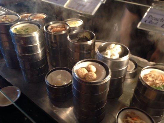 Parma, OH: Wide variety of steamed dumplings