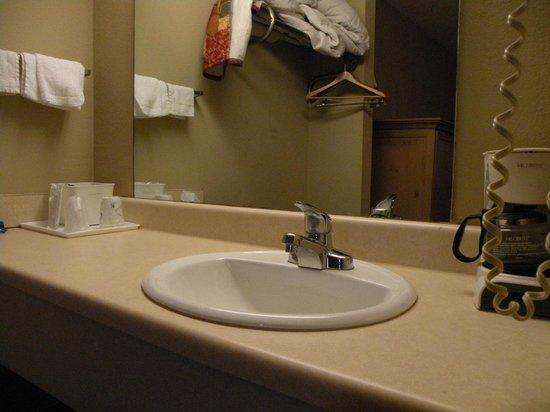 America's Best Inn & Suites York : Vanity