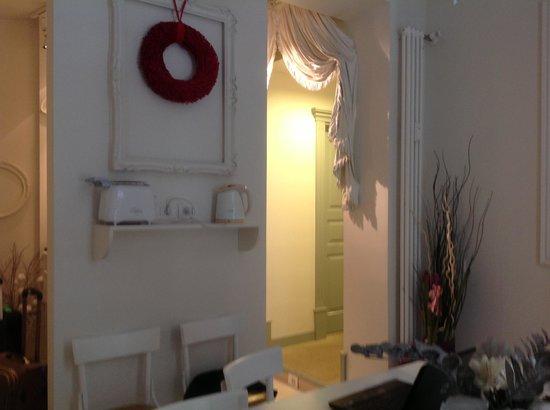 Nina Casetta De Trastevere: breakfast room