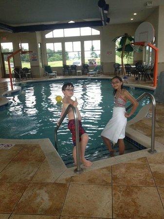 Sleep Inn & Suites Madison : View of Pool Area