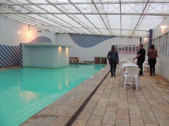 Hotel Fazenda Montanhes: Piscina aquecida