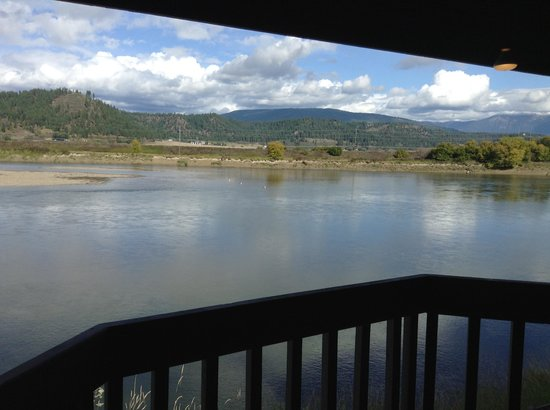 Best Western Plus Kootenai River Inn Casino & Spa: View from our balcony