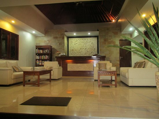 Segara Agung Hotel: Always a warm welcome in the lovely reception
