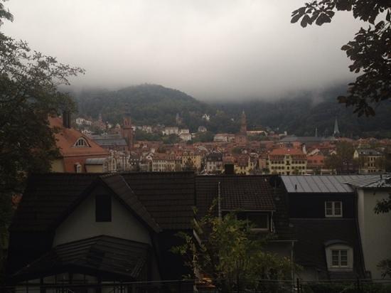 Heidelberg Suites : Vue du jardin