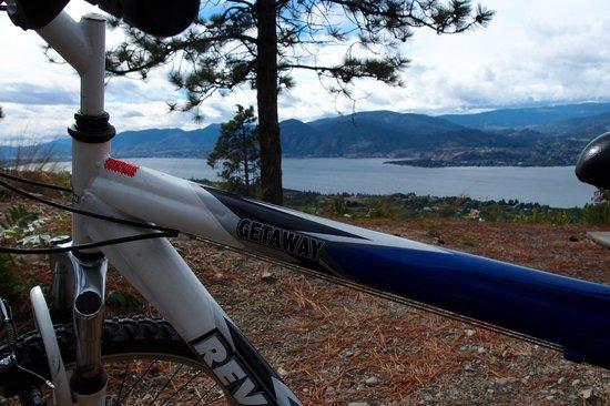 Benchmark B & B: B&B Bike on KVR Trail