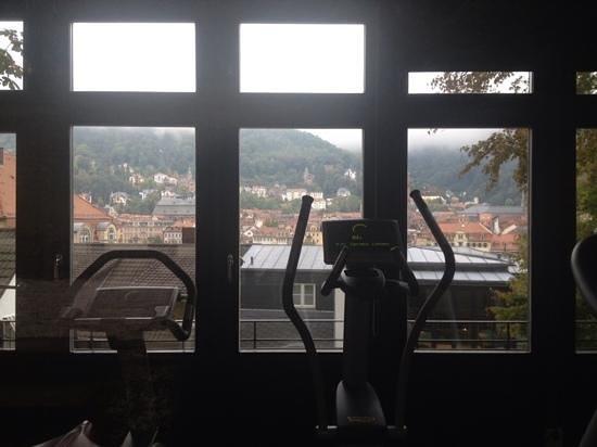 Heidelberg Suites : Faire du fitness avec une belle vue, c'est possible...