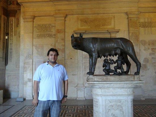 Musei Capitolini: Rómulo, Remo y yo