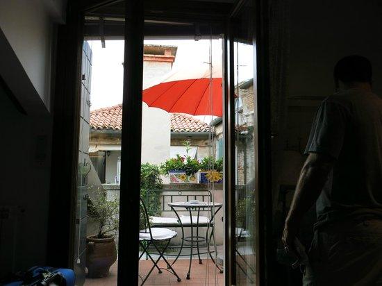 Hotel Al Piave : private patio