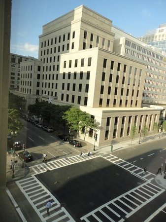 view out the window picture of loews boston hotel. Black Bedroom Furniture Sets. Home Design Ideas
