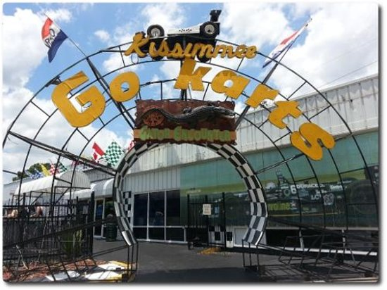 Kissimmee Go-Karts Entrance