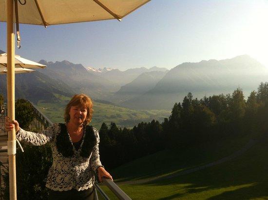 Hotel Villa Honegg : View from balcony