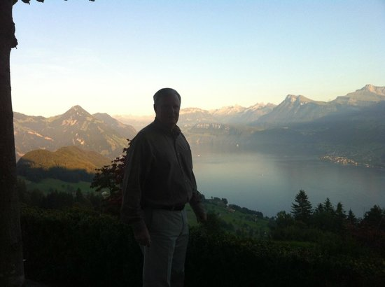Hotel Villa Honegg : View of Lake Lucerne