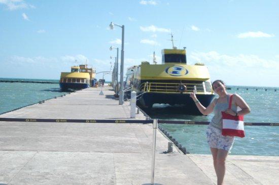 Ultramar: Aguardando para pegar o ferry