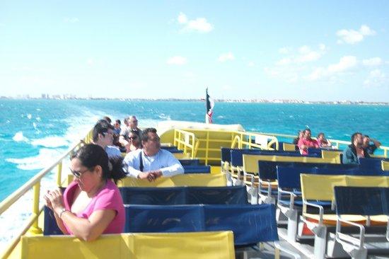 Ultramar: Parte ao ar livre do ferry