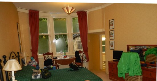 Kirklee Hotel: Room 1 - spacious