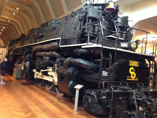 The Henry Ford: The last of the steam powered 3-3-3 steam locomotives. The sheer size was awesome.