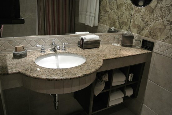 The Lodge at Vail, A RockResort : The bathroom