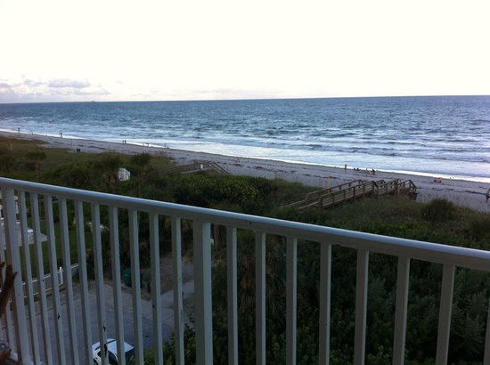 Best Western Cocoa Beach Hotel Suites Access From Tower Building