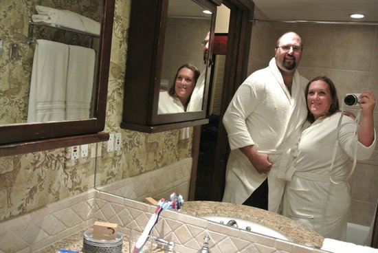 The Lodge at Vail, A RockResort: You get 2 robes and slippers