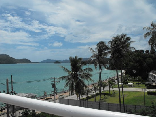 Kantary Bay, Phuket: view from roof top pool.