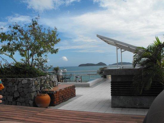 Kantary Bay, Phuket: view of roof top pool