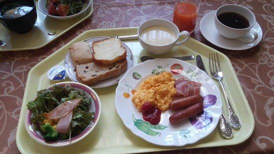 Hotel Monterey Nagasaki: 朝食。