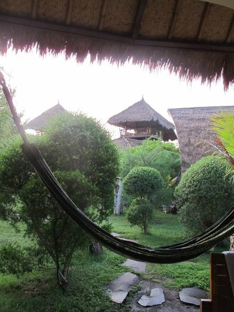 Sejuk Cottages: view from standard room