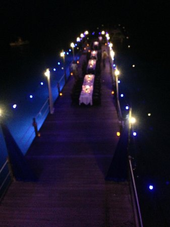 Beaches Ocho Rios Resort & Golf Club: Sandals Select dinner on the pier - loved it!