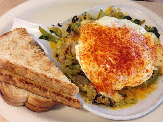 The Egg & I: Mushroom Hash