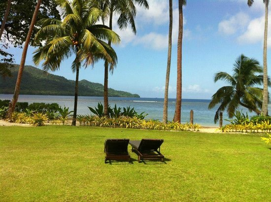 Qamea Resort And Spa Fiji: The view from our Bure ... every day true bliss