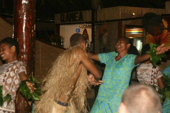 Qamea Resort And Spa Fiji: Friday night Meke Dancing ... truly amazing