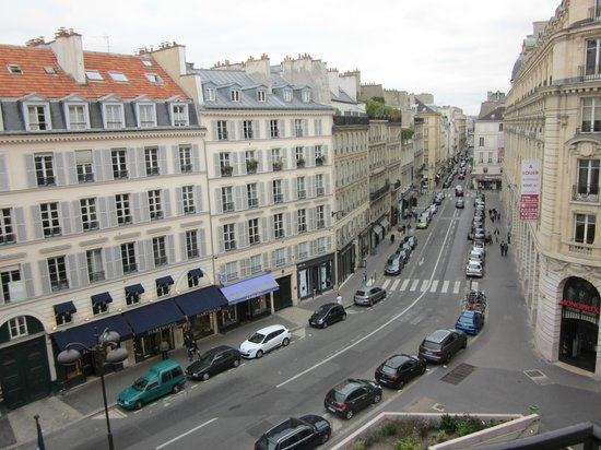 Hotel Pont Royal : View from our 4th Floor room