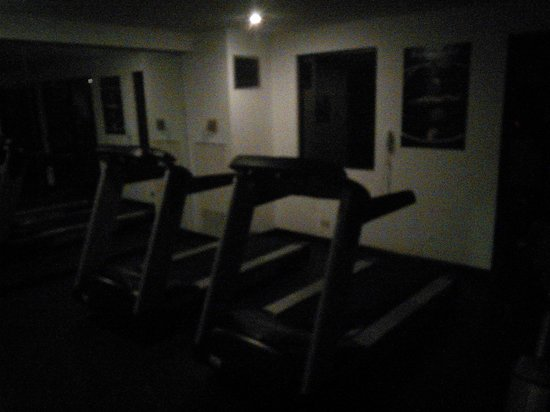Wyndham San Jose Herradura Hotel and Convention Center : Dark and smelly exercise room
