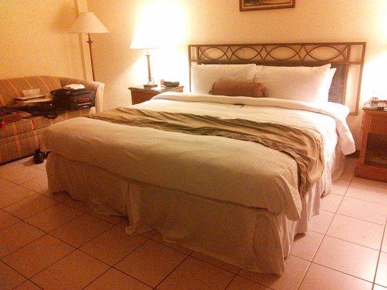 Wyndham San Jose Herradura Hotel and Convention Center : Comfortable bed