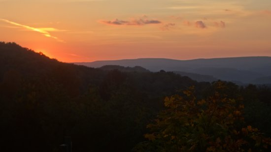 Fort Hill, PA: beautiful sunsets