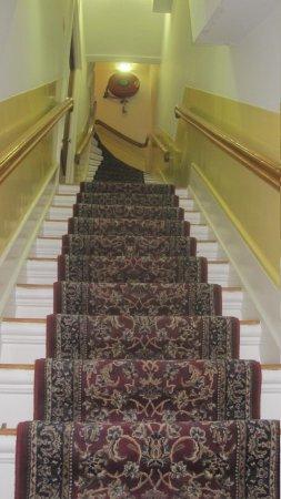 Amsterdam Wiechmann Hotel: steep stairs