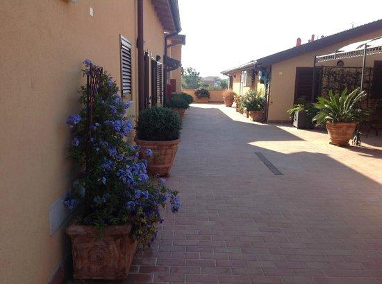 La Terrazza Di Castiglione: Area externa, lazer ou refeições. Uso comum