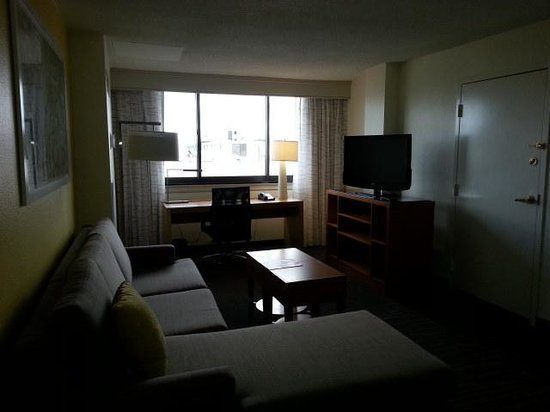 Residence Inn Washington, DC/Foggy Bottom : Livingroom