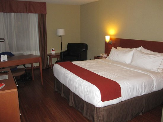 Holiday Inn Express Quebec City (Sainte-Foy) : Chambre Lit King