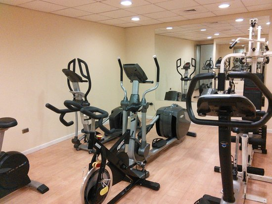 Hotel Diego de Almagro Aeropuerto : Gym