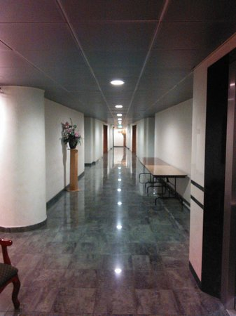 Hotel Diego de Almagro Aeropuerto : Corridors - light and clean