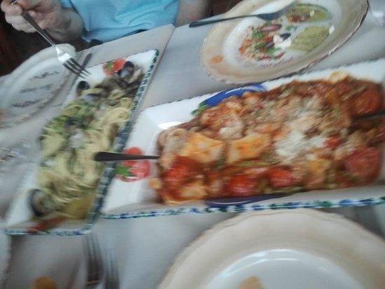 Spadaro: linguini & parmigiana