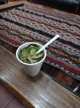 Hotel Rumi Punku: Welcome Coca Tea on arrival