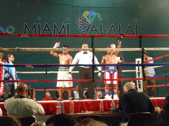 Shore Club South Beach Hotel: Boxing in Miami- good time