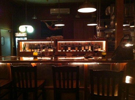 Mr. Helsinki Restaurant & Wine Bar: The bar at Mr. Helsinki