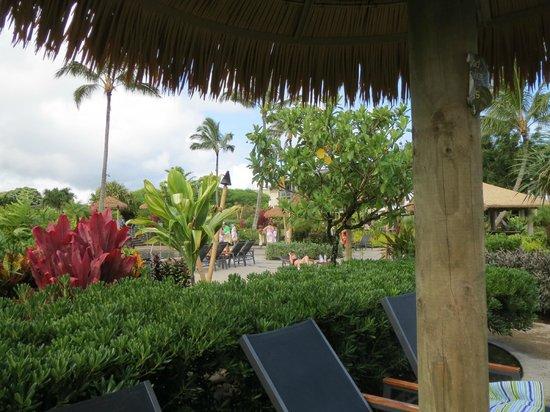 Westin Princeville Ocean Resort Villas: Pool/jacuzzi area