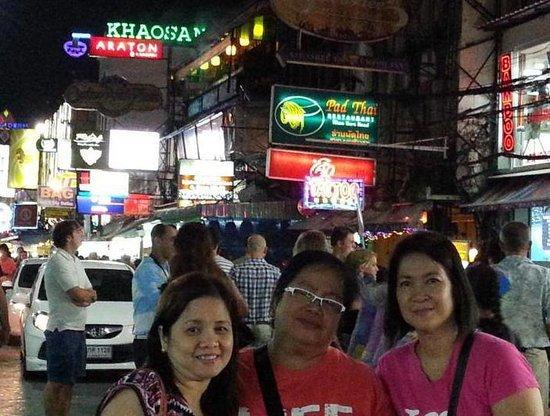 Bangkok City Hotel : Khao San Road visit