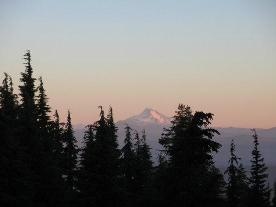 Timberline Lodge: Beautiful sunset