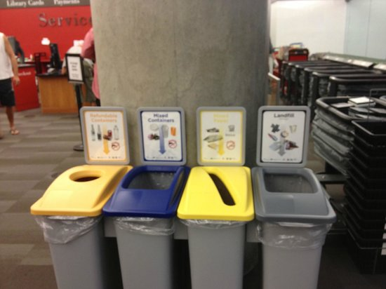 Vancouver Public Library (Central Library Branch) : Recycling