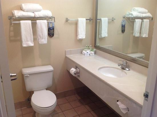 Holiday Inn Express Bend: Bathroom was very clean